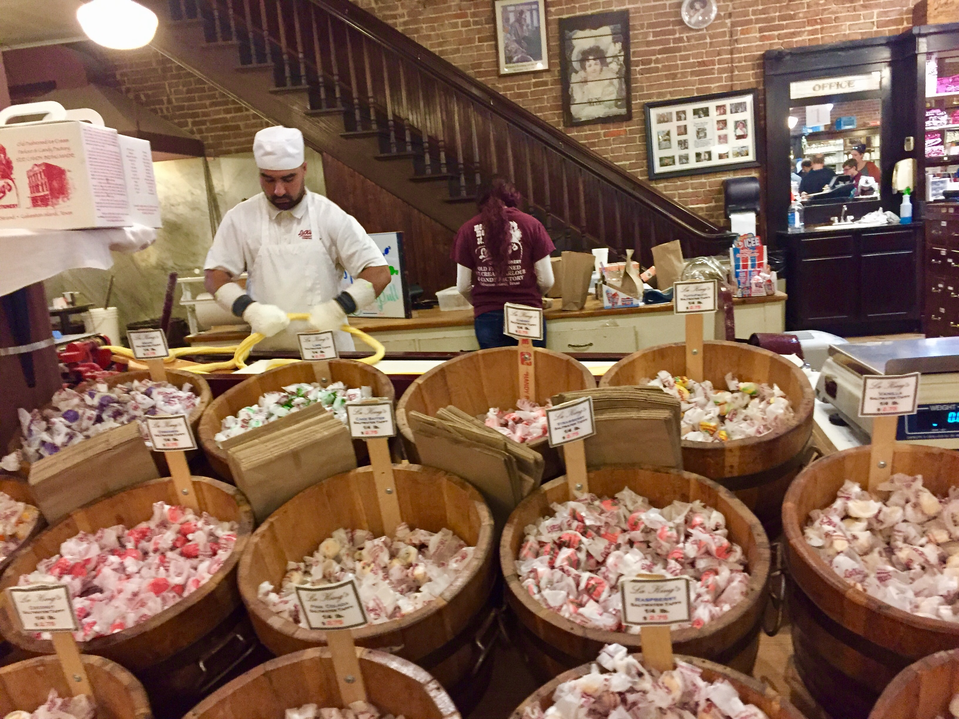 Meet the man who conjures up our temptations at La Kings Confectionary in Galveston, TX.