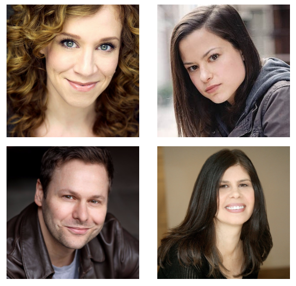 (Clockwise from top left) Lindsay Nicole Chambers, Kally Duling, George Merrick and Dayle Reyfel