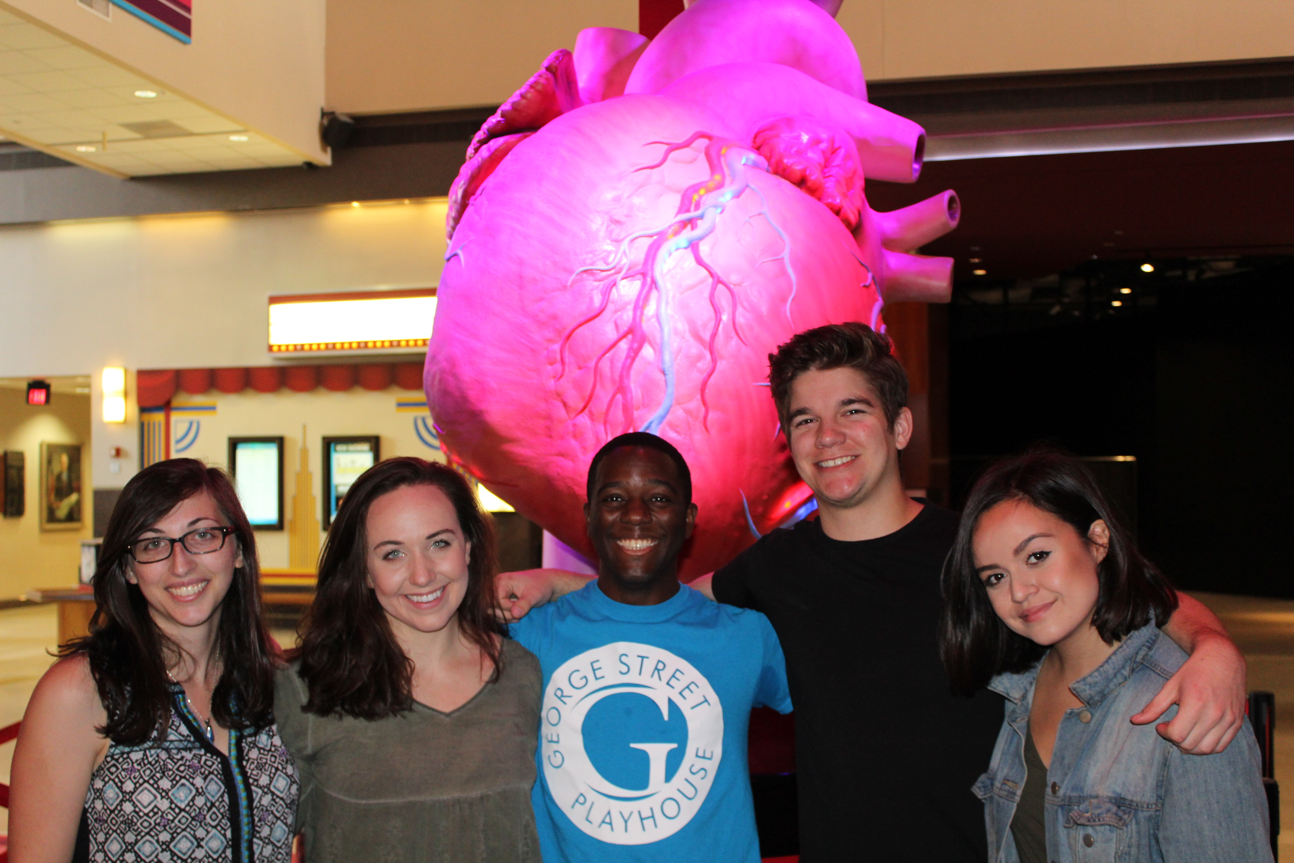 The Austin The Unstoppable team at The Health Museum.