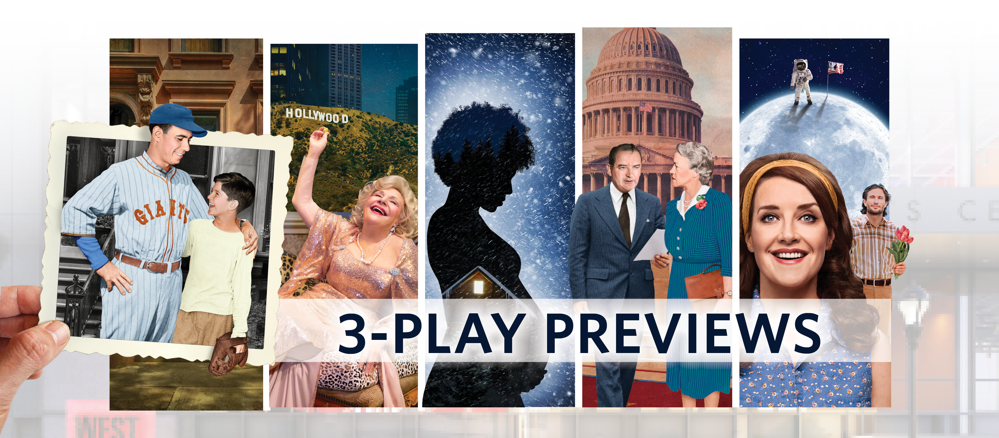 Choose Your Own 3-Play Package (Previews)