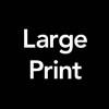 Large Print Symbol