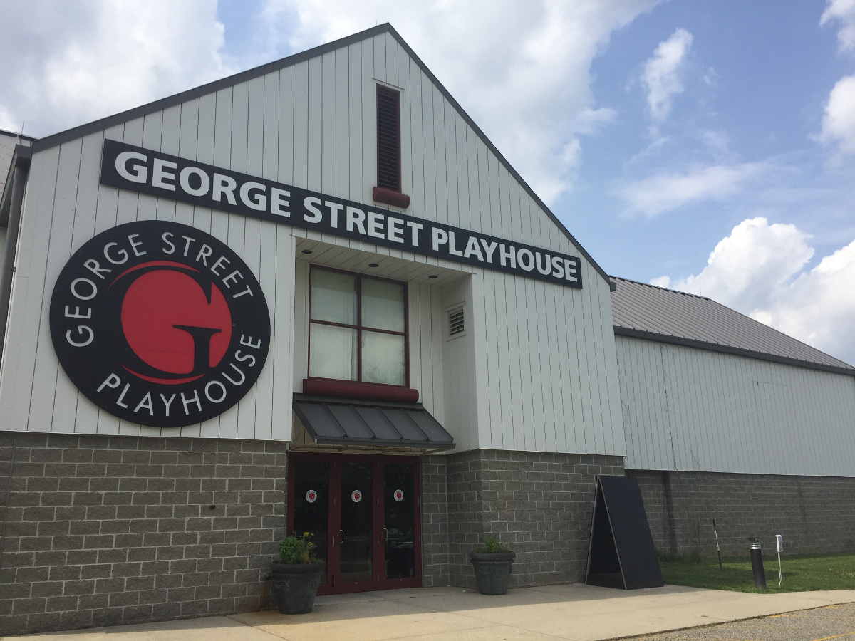 Exterior of George Street Playhouse at 103 College Farm Road in New Brunswick, N.J.