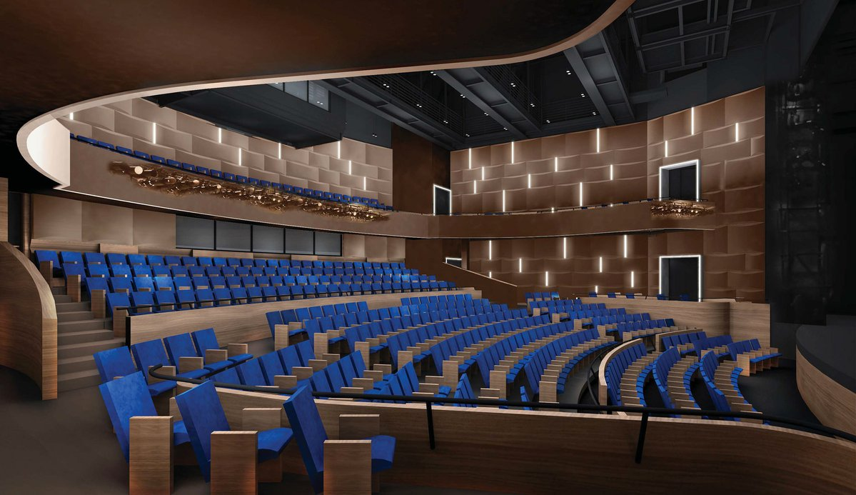 NBPAC's 462-seat Lyric Theatre. (Photo / NEW BRUNSWICK DEVELOPMENT CORP.)