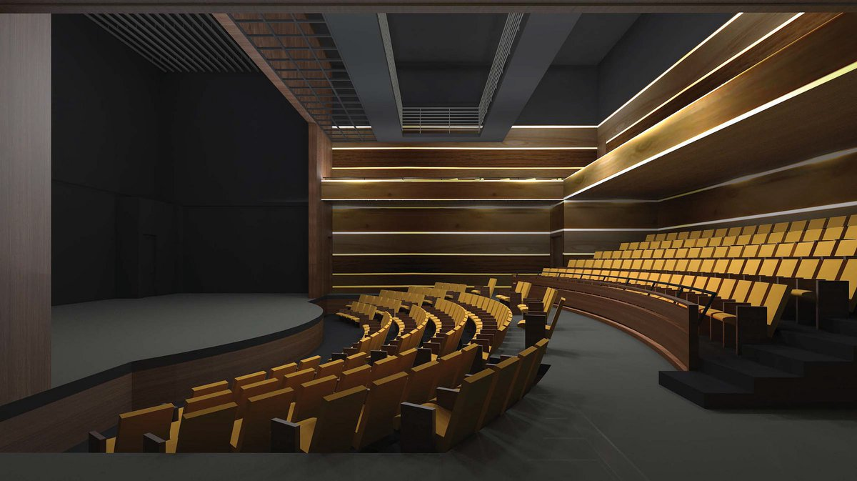 NBPAC's 252-seat Playhouse (Photo / NEW BRUNSWICK DEVELOPMENT CORP.)