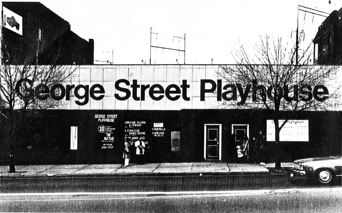 George Street Playhouse's original home in an old supermarket at 410 George Street